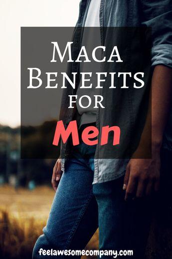 Maca Root Benefits for Men (Boost Energy,Libido,+Testosterone 2019)
