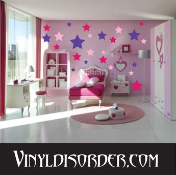 72 Star Stars Wall Decal Kit - Vinyl Decal - Car Decal - Many Sizes Available