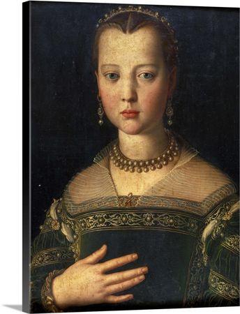 Portrait of Maria de' Medici, 1551