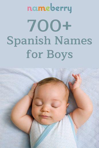 700+ Spanish Names for Boys