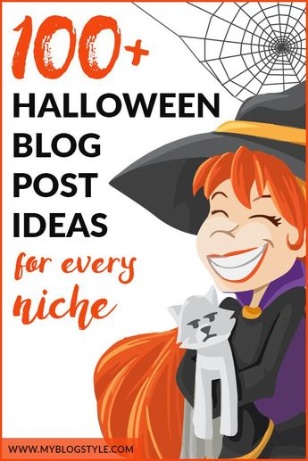 Make planning your Halloween blog post ideas a breeze with 100+ Halloween content ideas for bloggers. Put a spooky twist on your regular blog content to win at Halloween marketing and blogging. #halloween #halloweenmarketing