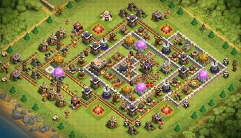 Recently shared clash of clans base th11 2018 ideas & clash of clans