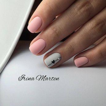 Дизайн Ногтей 2018 #pinknails