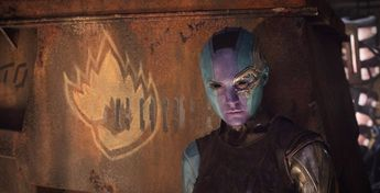 Nebula, daughter of Thanos, has done some terrible things in the MCU — but she's also helped the Avengers out a lot...