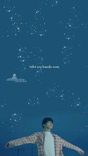 Euphoria by BTS Jungkook Lyrics wallpaper