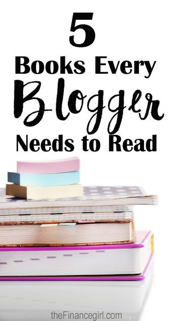 The 5 Best Books About Blogging (That Every Blogger Needs To Read)