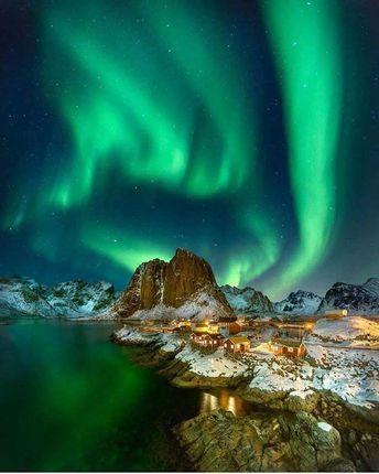 Northern Lights in Lofoten Islands – Norway
