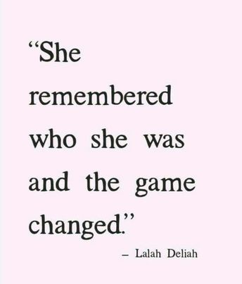 who she was quote