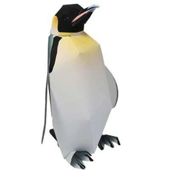 Emperor penguin papercraft model