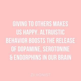 The Simple Secret To Happiness? Giving! This Is Your Brain On Altruism - zillionist