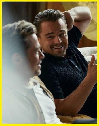 Brad Pitt, Leonardo DiCaprio y Quentin Tarantino para Esquire USA