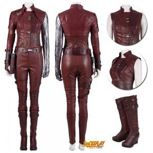 Nebula Costume Avengers Endgame Cosplay Suit sim190430B2