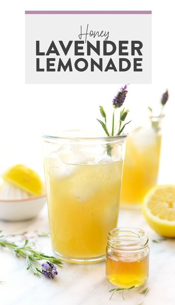 Made with lavender-infused honey simple syrup, this lavender lemonade is perfectly refreshing and made with no refined sugars! Whip up this lavender lemonade recipe to share at your next summer grill out!