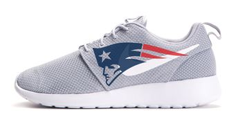 c24e3941 Bandana Fever New England Patriots Print Custom Grey Nike Roshe Shoes