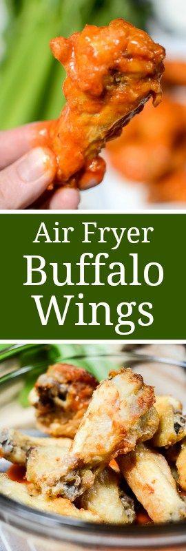Air Fryer Buffalo Wings