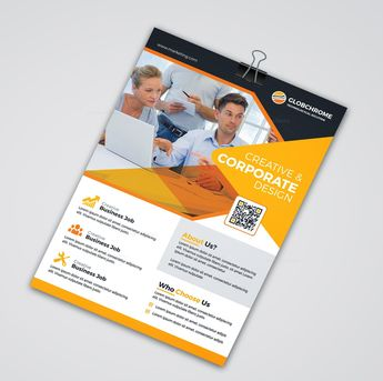 Corporate Print Flyer Templates - Graphic Templates