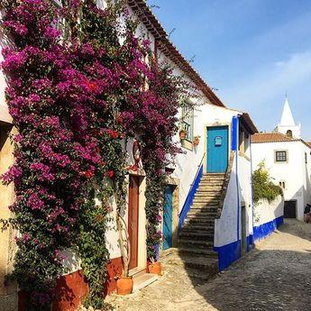 #obidos #portugal #daytrip #travel #solotravel