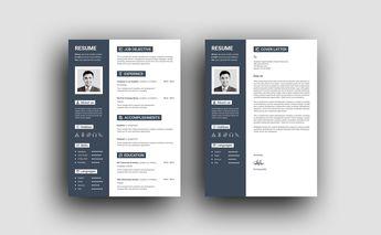 Hera Elegant Professional Resume Template - Graphic Templates