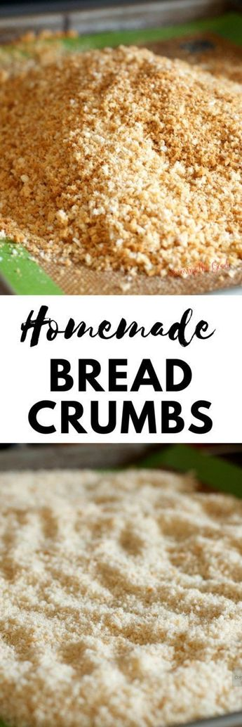 Making homemade bread crumbs is simple and a great way to cut back on food waste. Follow my easy instructions on how to make bread crumbs. Homemade bread crumbs are easily turned into seasoned bread crumbs with the seasoning of your choice. Enjoy my bread crumbs recipe and technique.