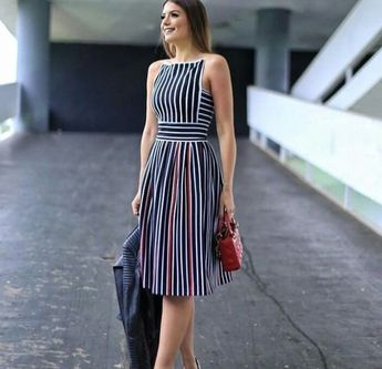 50+ Striped Dresses 2018 Outfits Ideas