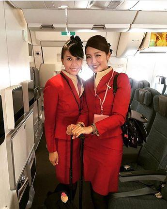 👩🏻💼 AFA since May 2016さんはInstagramを利用しています:「Follow ✈️ @asianflightattendant at Shandong Airlines 🇨🇳 _______________________________________________________ #asianflightattendant…」