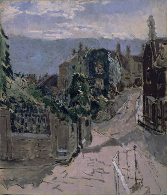 Paradise Row, Holloway, Bath by Walter Richard Sickert