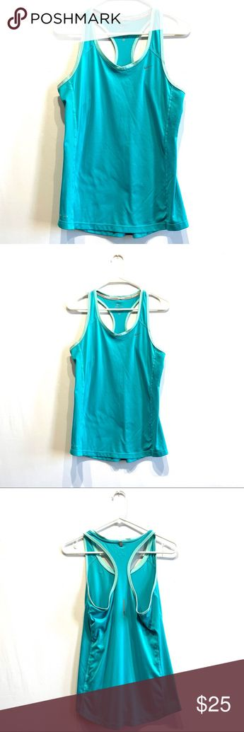 Nike Drifit work out shirt Nike work out shirt. Worn once. Fast shipping!! Nike Tops Tank Tops