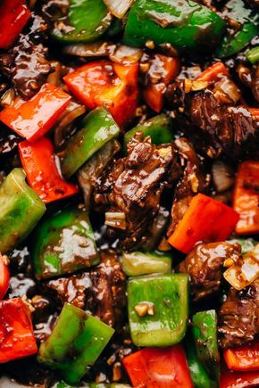 Garlic Lovers Pepper Steak Stir Fry (and meal prep!)