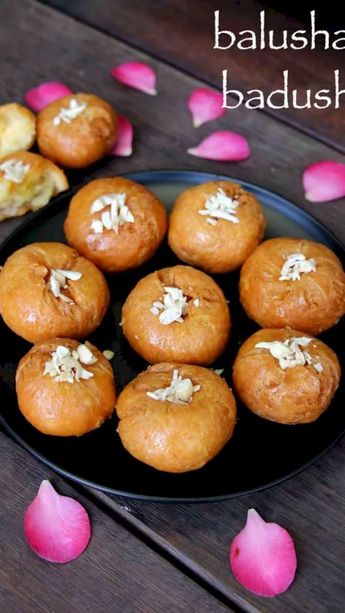 Balushahi recipe | badusha recipe | badusha sweet or badhusha sweet