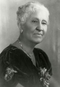 Mary Church Terrell (September 23, 1863 – July 24, 1954), daughter of former slaves, was one of the first African-American women to earn a college degree. She became an activist who led several important associations and worked for civil rights and suffrage.