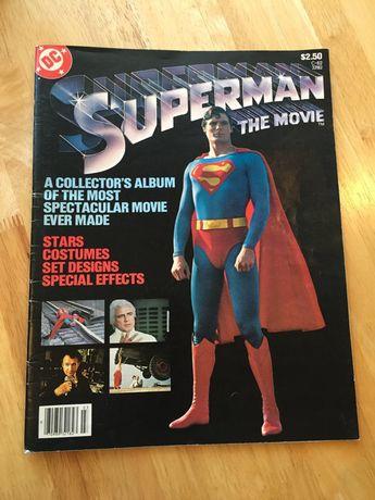 Superman DC Comics Superman Movie Booklet 1979