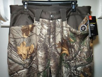 0223a8d121389 Under Armour Mens Coldgear Realtree Xtra Camo Strom 1 Hunting Pants 34 - 32  #Underarmour