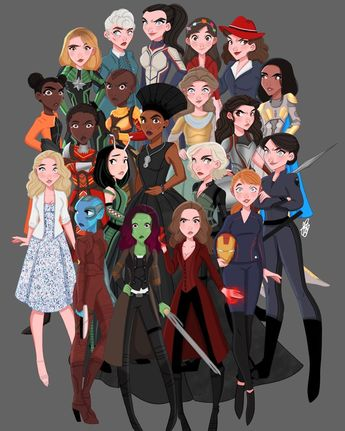 There was an idea...to bring together a remarkable group of people to see if they could become something more. So that when we needed them they could fight the battles we never could... tada!! 2 months later and yall finally see the finished results of my labor of love  @zoesaldana @karengillanofficial @laurajhaddock @pom.klementieff @cobiesmulders @gwynethpaltrow @im.angelabassett @lupitanyongo @letitiawright @danaigurira @tessamaethompson @brielarson @evangelinelillyofficial @abbyryderfortson