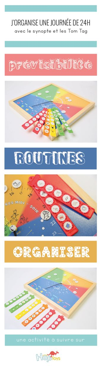 Routines : le synopte