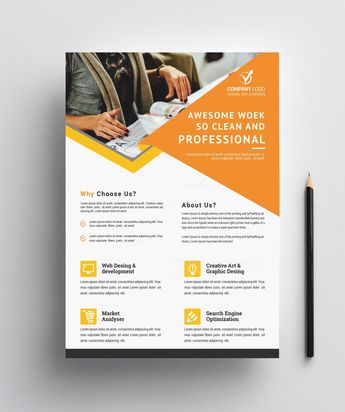 Professional Business Flyer Design - Graphic Templates