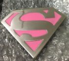Superman Return Belt Buckle Pink - New UNISEX  #Unisex