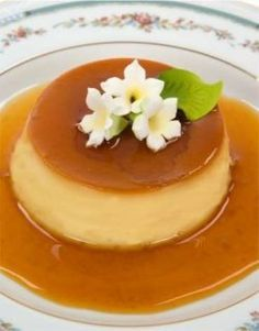 Easy Caramel Flan (Creme Caramel)