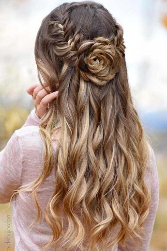 21 Flattering Long Hairstyles For Valentines Day