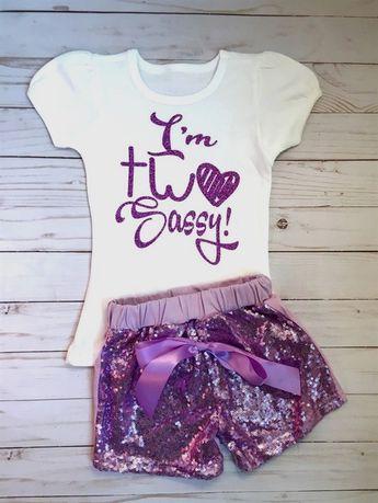 83bc5b33d 2nd #Birthday, I'm Two Sassy, Two Sassy #Birthday Shirt,