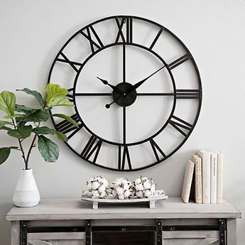 40 Unique Wall Decor Ideas With Clocks - HOOMDSGN