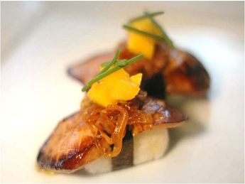 Sansei Seafood Restaurant and Sushi Bar. Contemporary sushi and new wave Asian inspired dishes served in a lively setting.