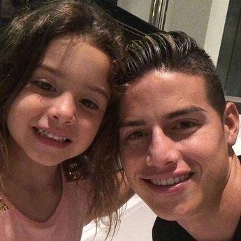 "James Rodríguez on Instagram: ""Salomé 😍. • James Rodriguez  @marjajua14..."