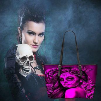 fb90cd3c0b1f Calavera Design  2 (Pink) Accessorize Yourself Bundle  2 - 1 Large Vegan