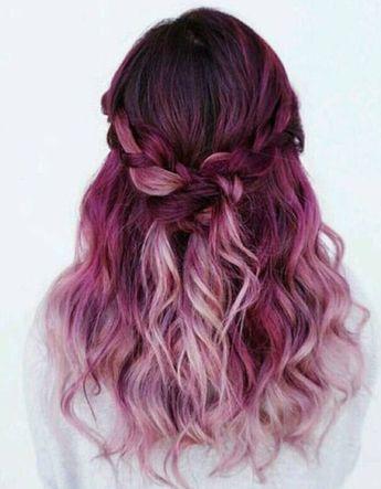 Ombré hair framboise - Ombré hair : les plus beaux dégradés de couleur - Elle