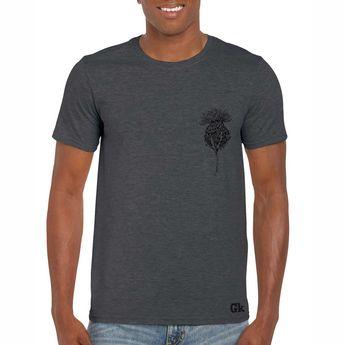 084fb67a414 Scottish Mens T-shirt Flower of Scotland Thistle Design