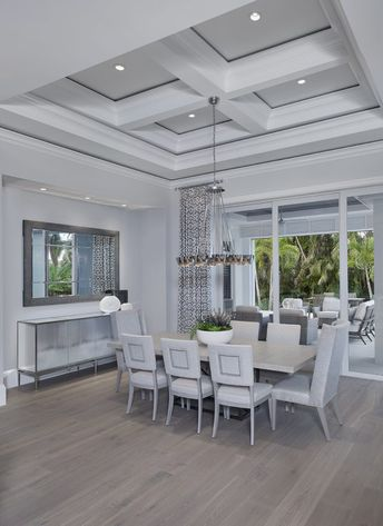 Transitional West Indies Home - The Neapolitan - Weber Design Group, Inc. Naples, Florida
