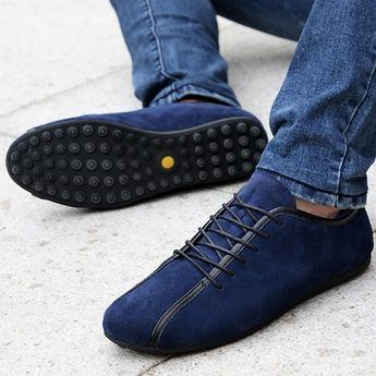 Men's High Quality Leather Sneakers - Hot100Fashions #MenSummerFashion #SummerFashionTrends