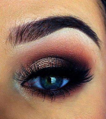 Beautiful Eye Makeup Tips In Hindi Smokey Eye Makeup Images #Eyemakeup #BlackwomensMakeup