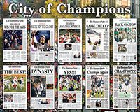 City of Champions - 550 Piece Puzzle - White Mountain Puzzles