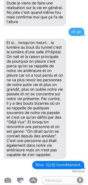 Théorie de fou sur la vie - ConneriesQc